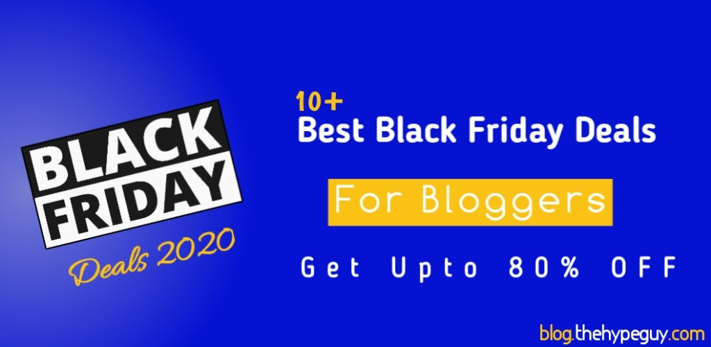 black friday cyber monday blogging deals bloggers