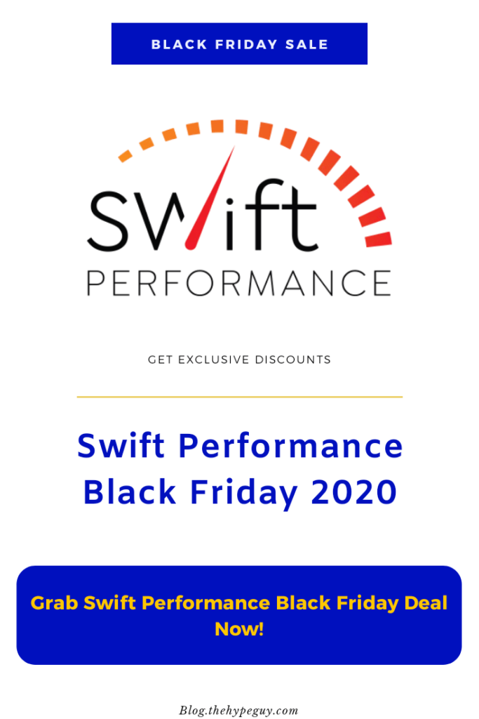 Swift Performance Black Friday deals - infographics